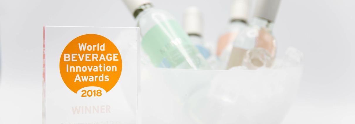 MINVINO vinner World Beverage innovation awards 2018