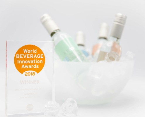 MINVINO vinner World Beverage innovation awards 2018